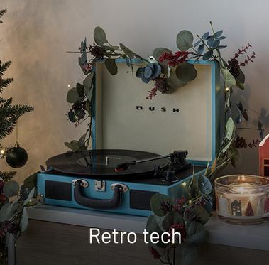 Retro technology.