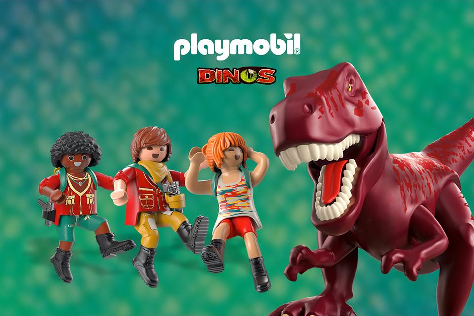 Win 1 of 3 exclusive Playmobil Dinos bundles!