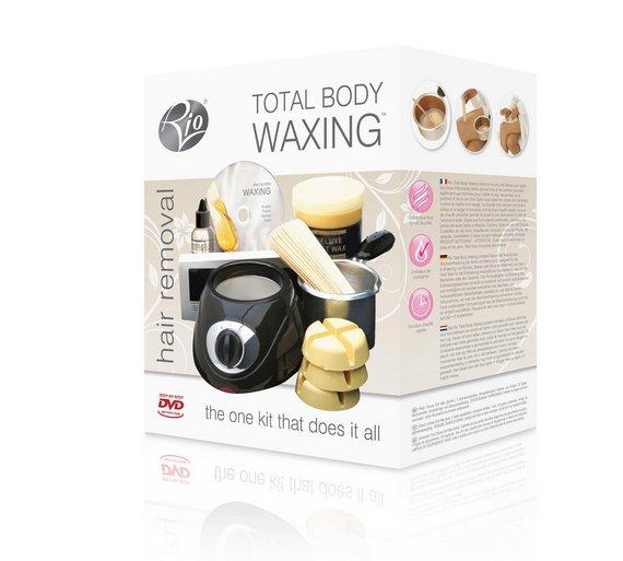 Buy rio total body waxing hair removal kit waxing kits argos click to zoom solutioingenieria Choice Image