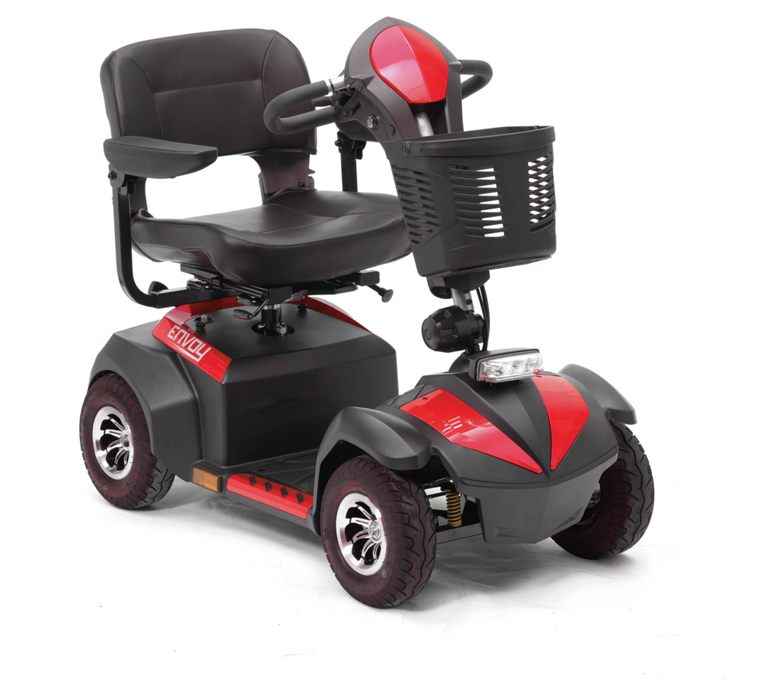 Drive DeVilbiss Healthcare Envoy Mobility Scooter Class 2 - Red.