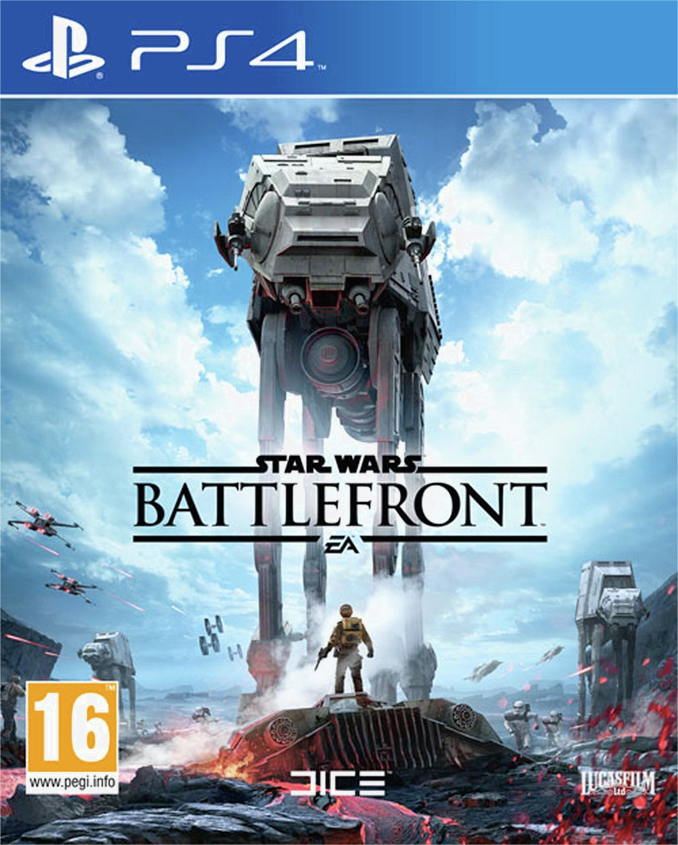 Star Wars Star Wars - Battlefront - PS4 Game.