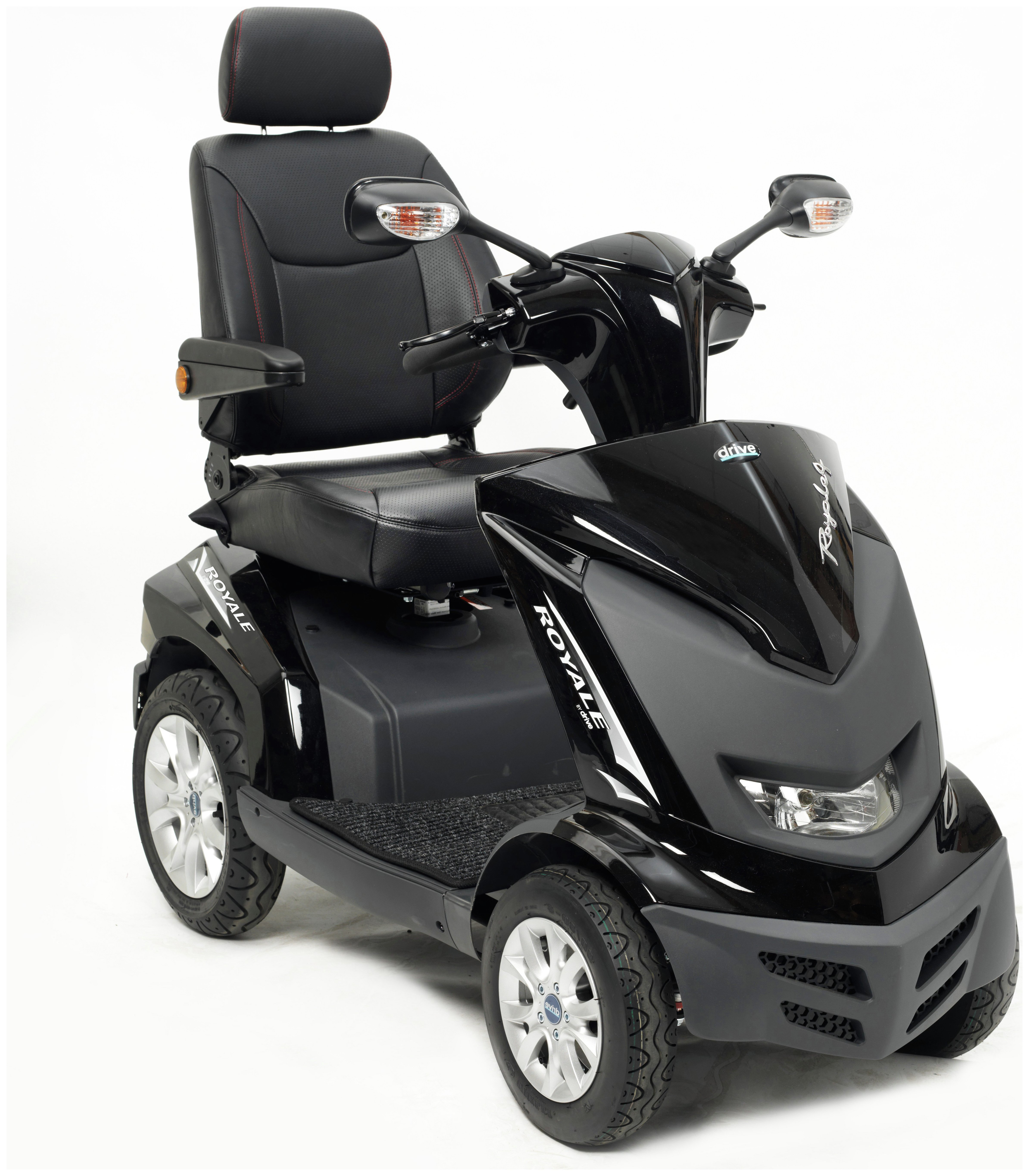 Drive DeVilbiss Healthcare Royale Mobility Scooter Class 3 - Black.