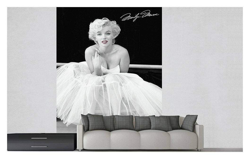 1Wall Marilyn Monroe Wall Mural Part 22