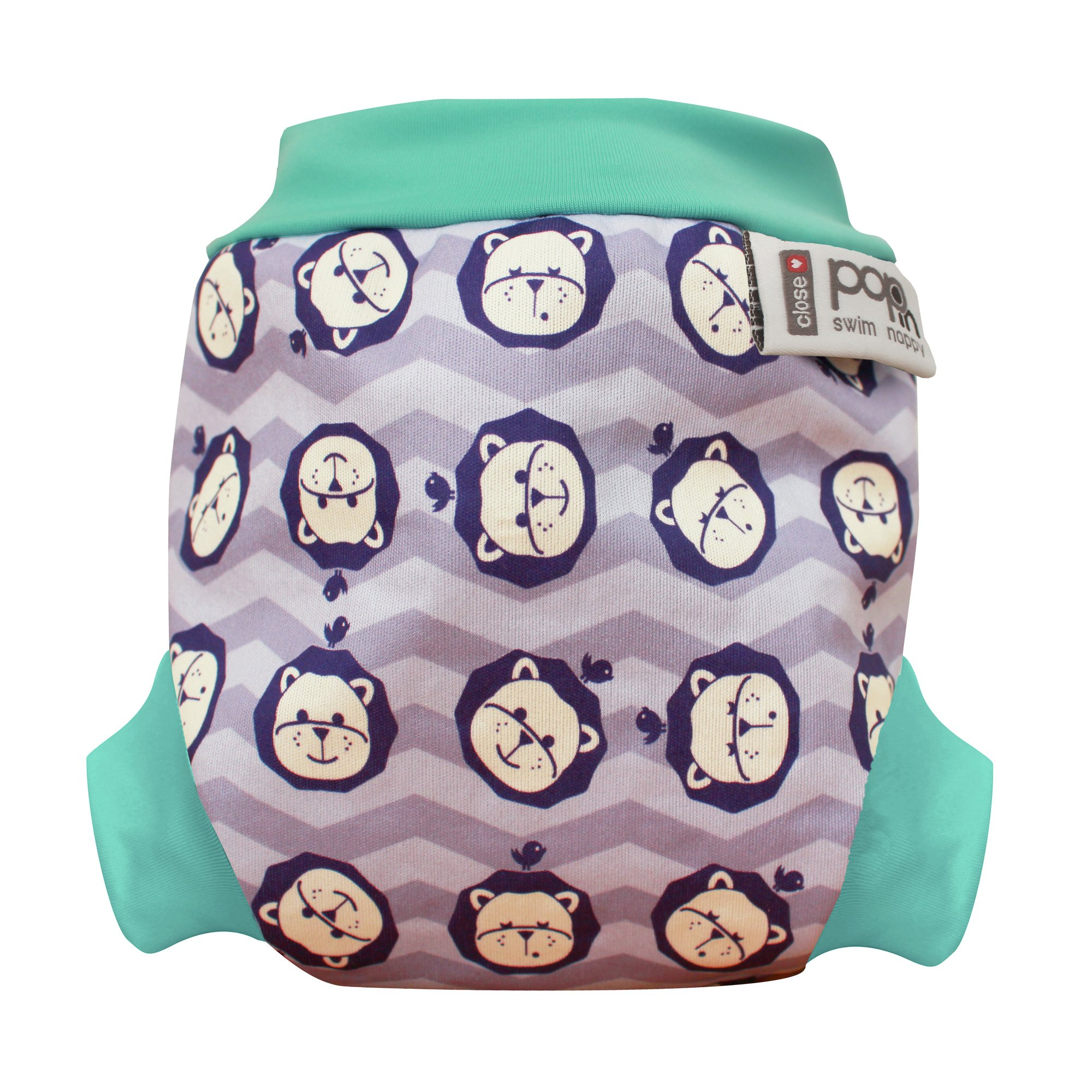 Image of Pop In - Lion Swim Nappy - Extra Large
