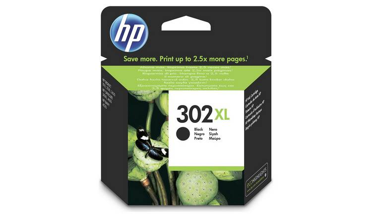HP 302 XL High Yield Original Ink Cartridge - Black