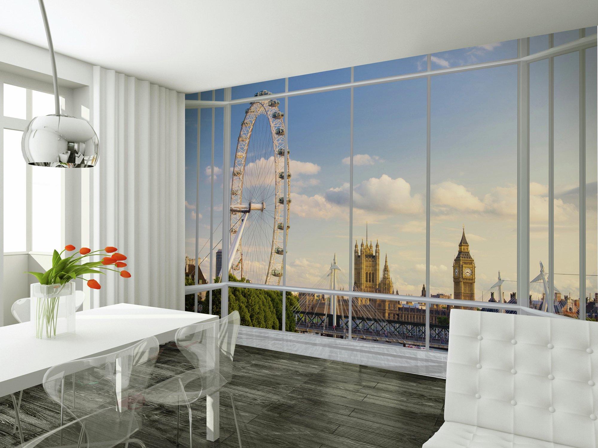 1Wall - London Window Giant Mural