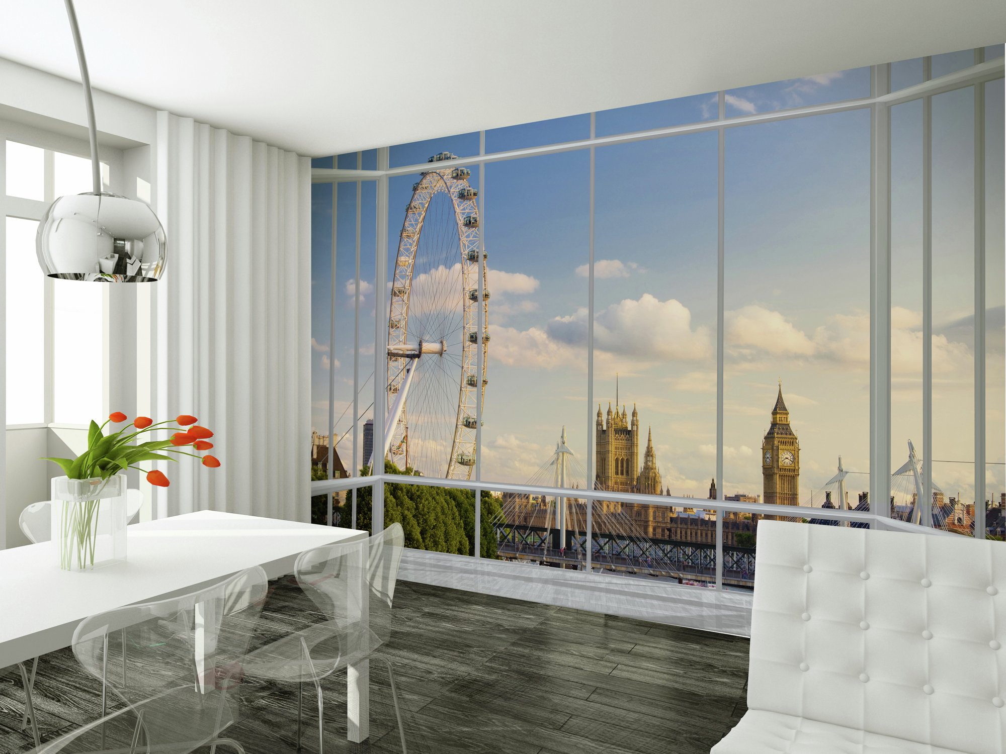 image for 1Wall - London Window Giant Mural