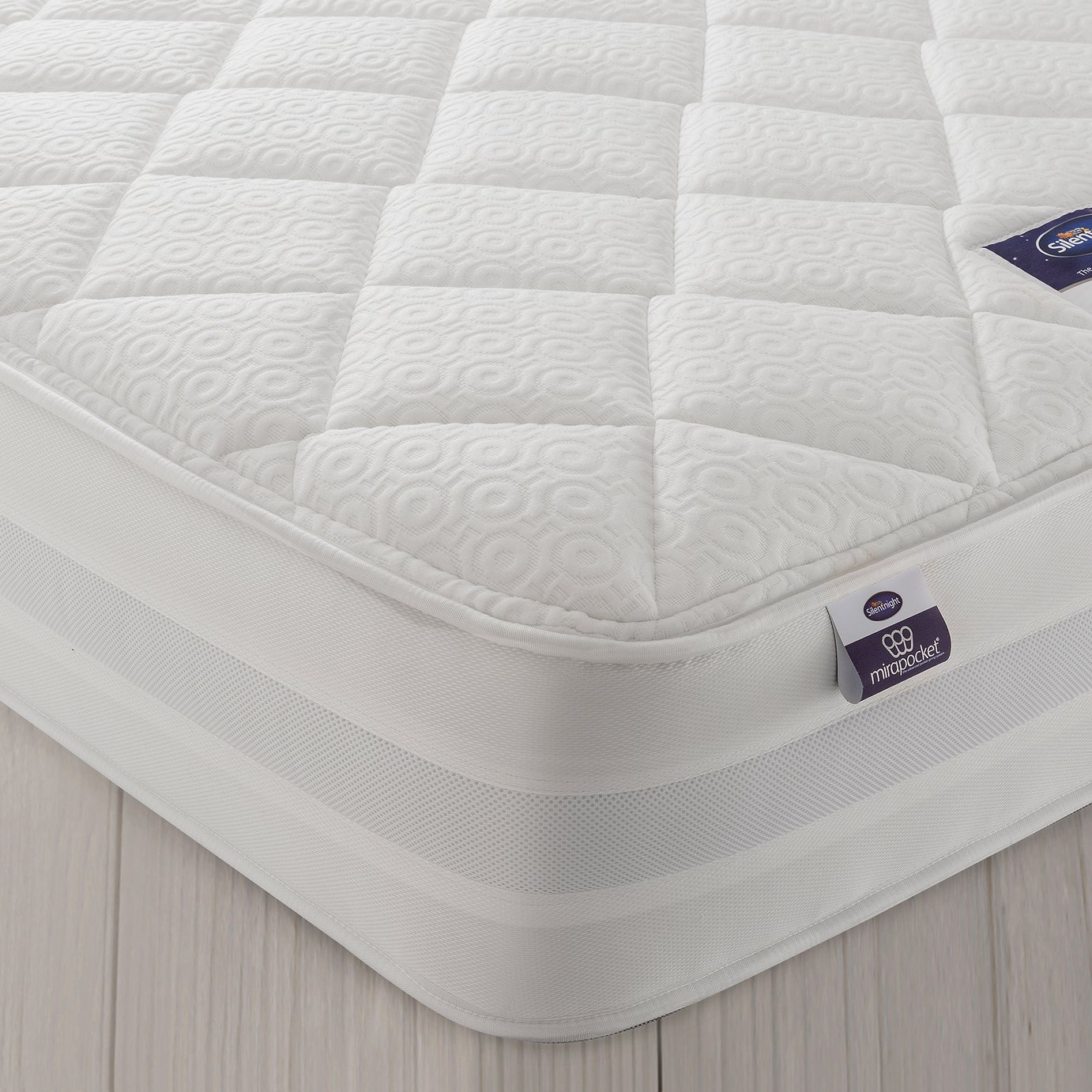 Silentnight Knightly 2000 Pocket Luxury Kingsize Mattress