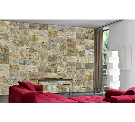 Buy 1wall world maps creative collage murals and wall stickers argos 1wall world maps creative collage gumiabroncs Choice Image