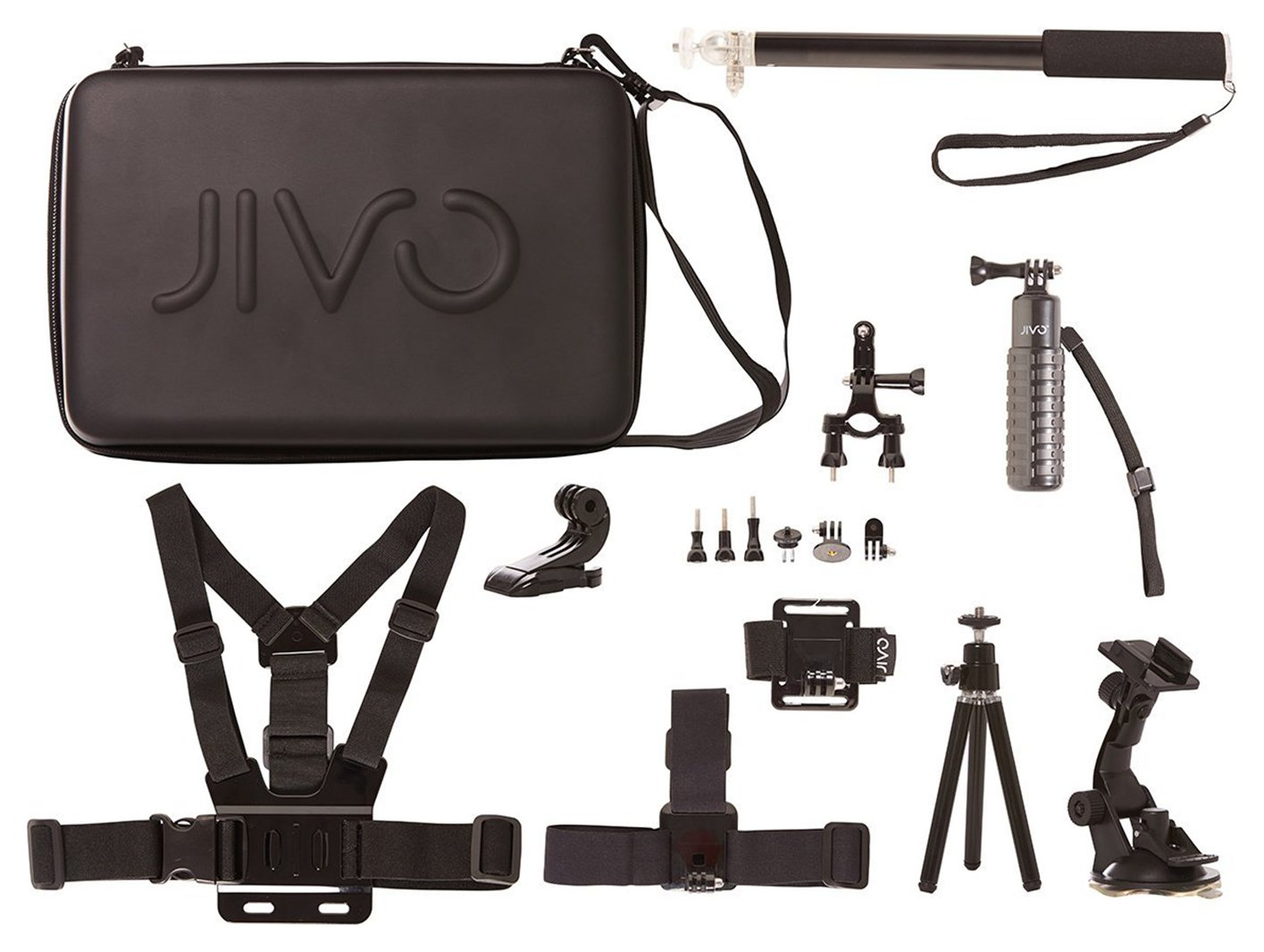 Jivo Jivo GoGear 11 In 1 Accessory Kit For GoPro and Action Cams