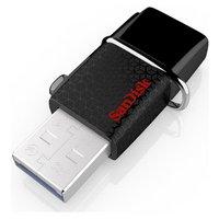 SanDisk Ultra 130MB/s Dual USB 3.0 Flash Drive - 16GB
