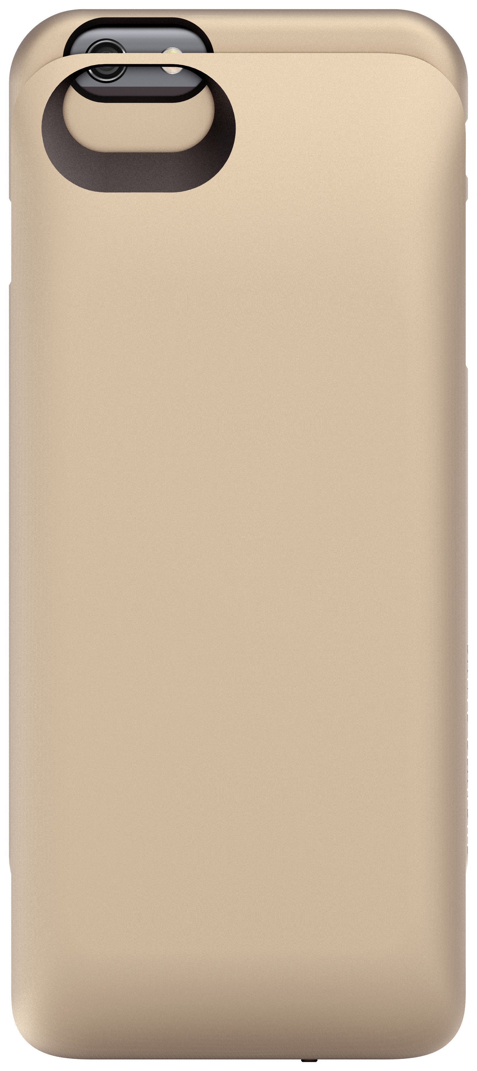 Image of BOOSTCASE 100% Extra Charge Charging Case - for - iPhone - 6 Gold