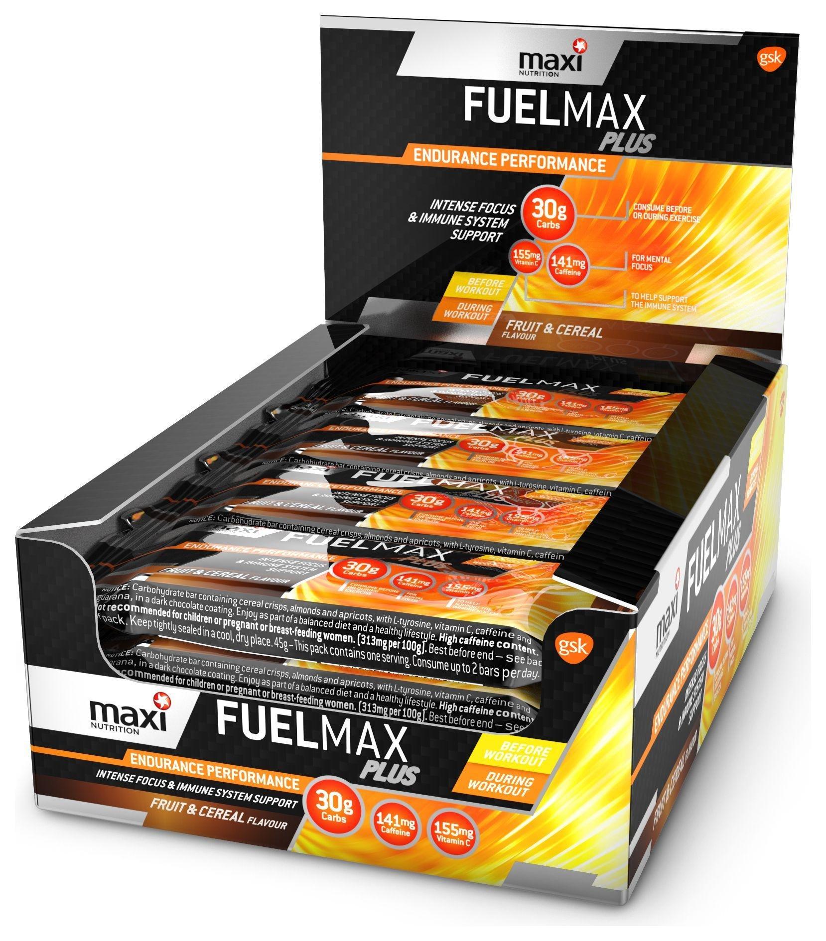 MaxiNutrition Fuel Plus Bar 12x45g. lowest price
