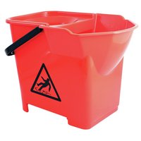 Bentley Professional Heavy Duty Mop Bucket - Red.
