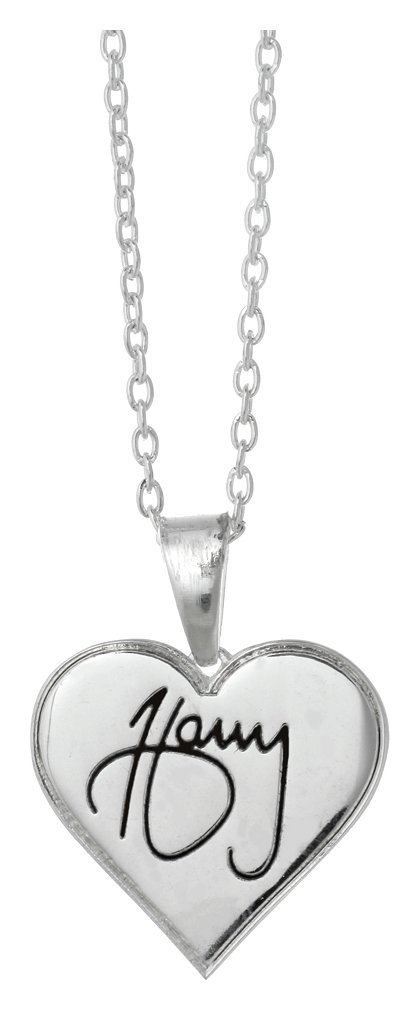 1D Harry Heart Necklace