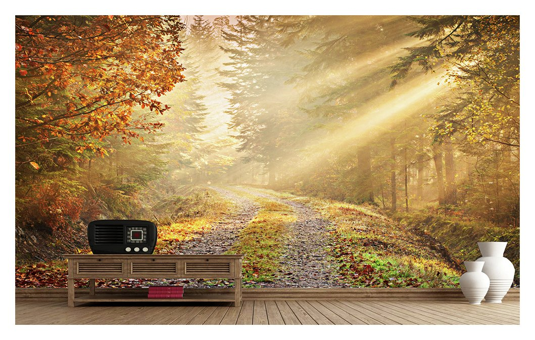 1Wall - Golden Forest - Wall Mural