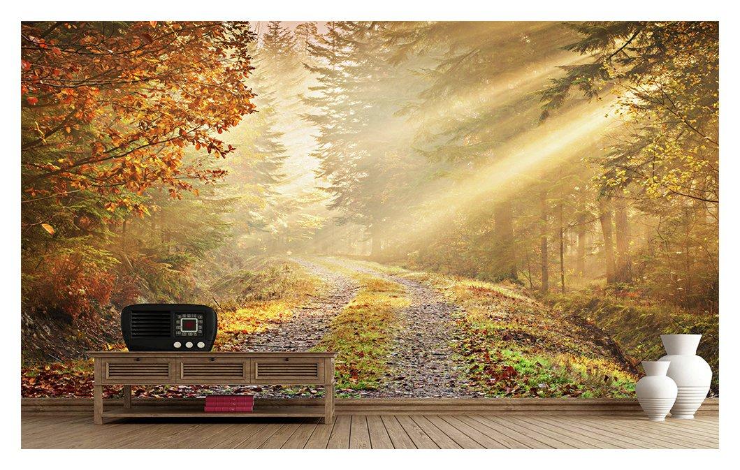 1Wall - Golden Forest - Wall Mural