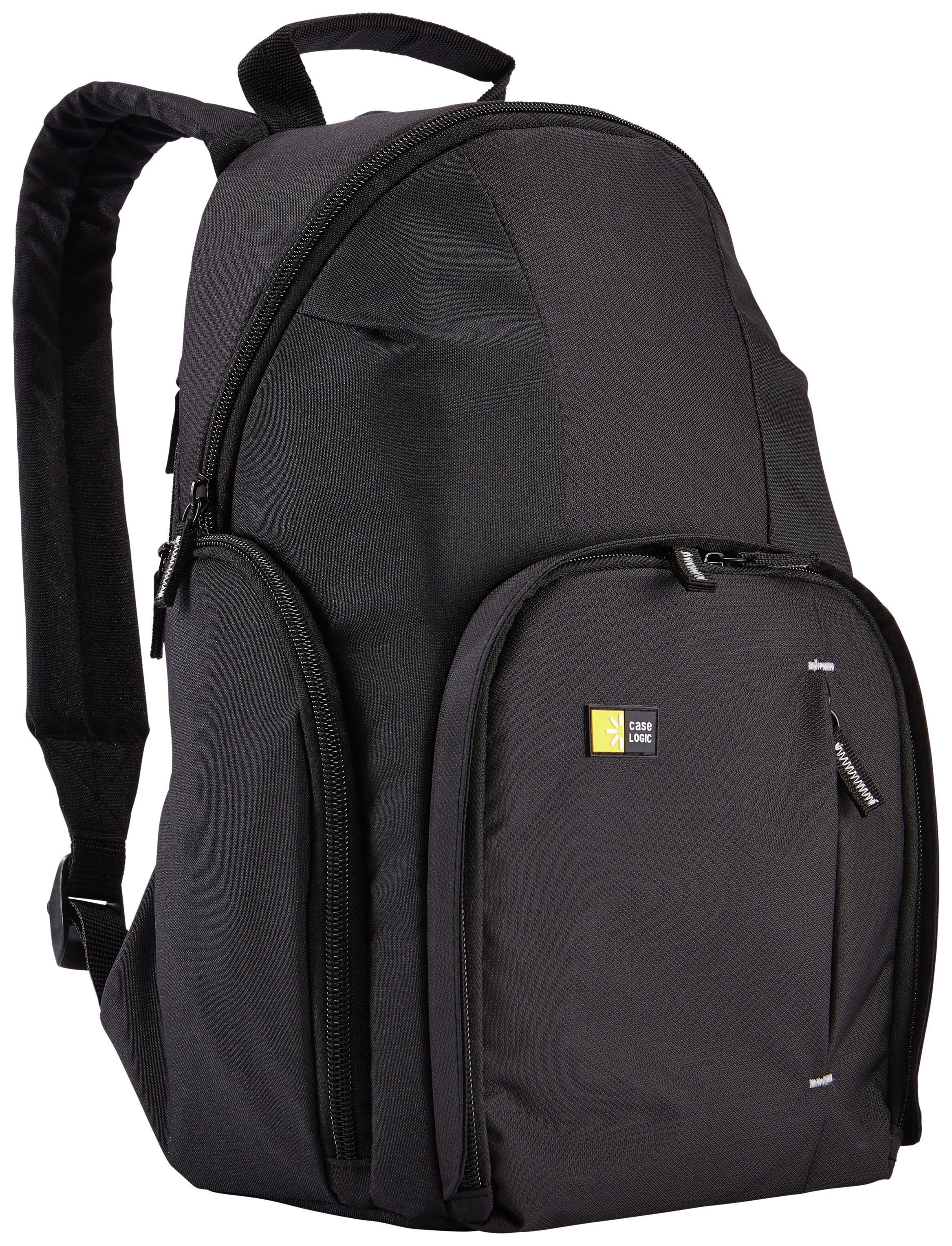 Image of Case Logic Core Nylon DSLR Backpack - Black.
