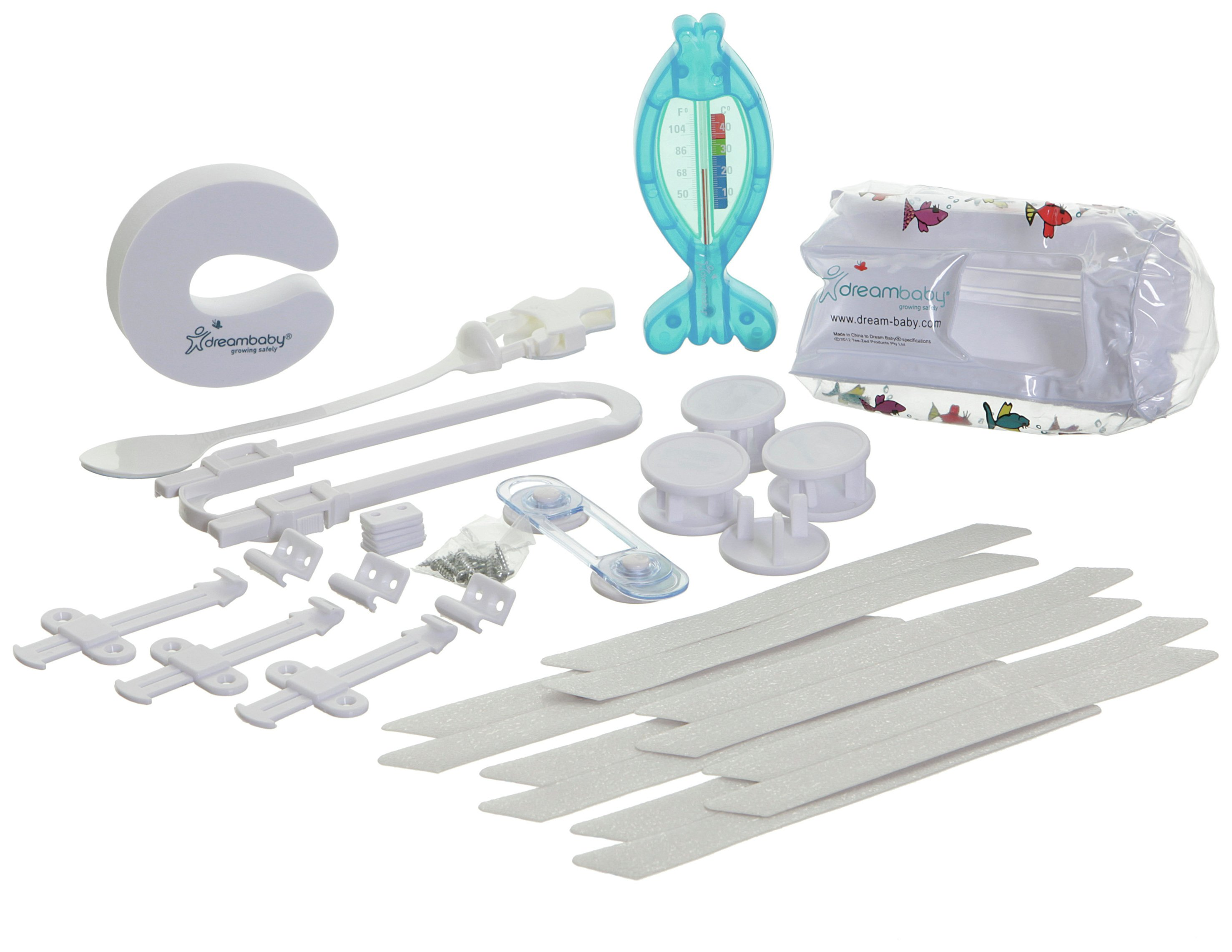 Dreambaby - Bathroom Boxed Safety Kit - 28 Pieces