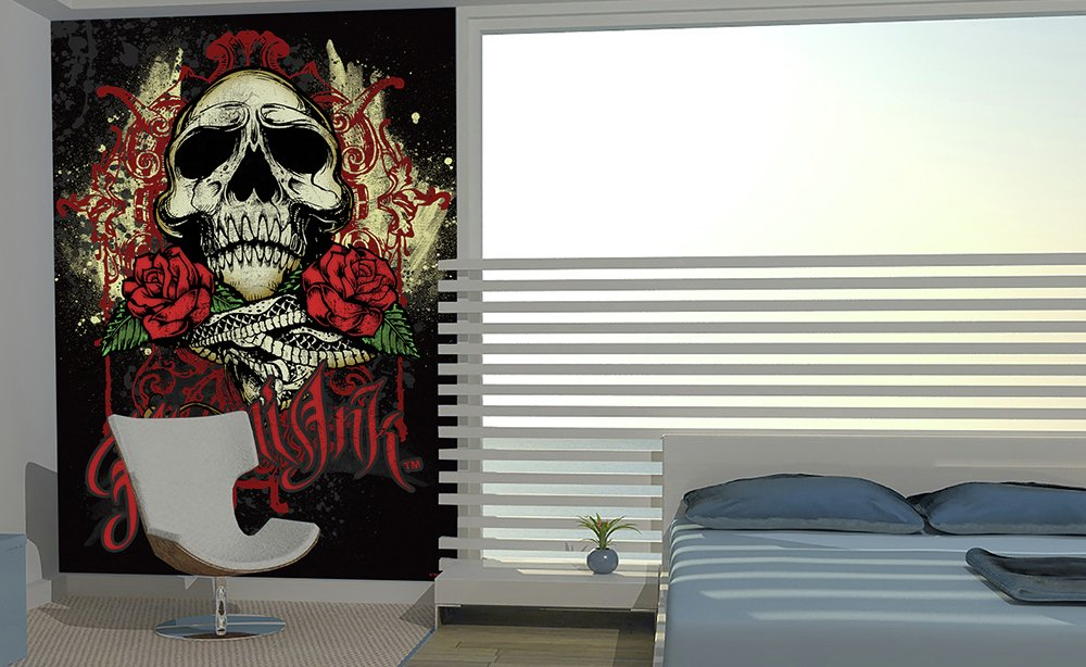 1Wall - Miami Ink - Wall Mural