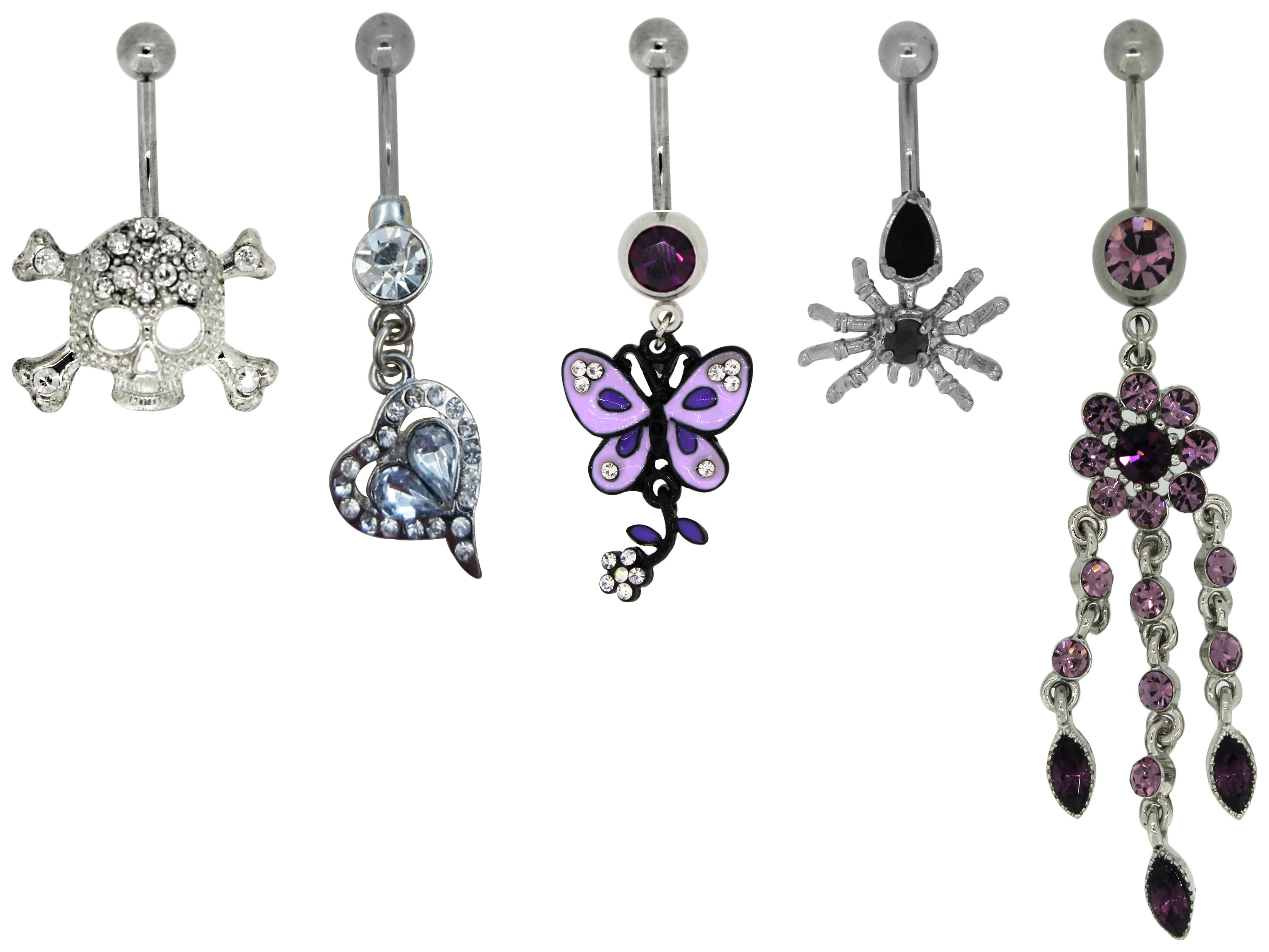link-up-metal-skull-heart-butterfly-belly-bars-5
