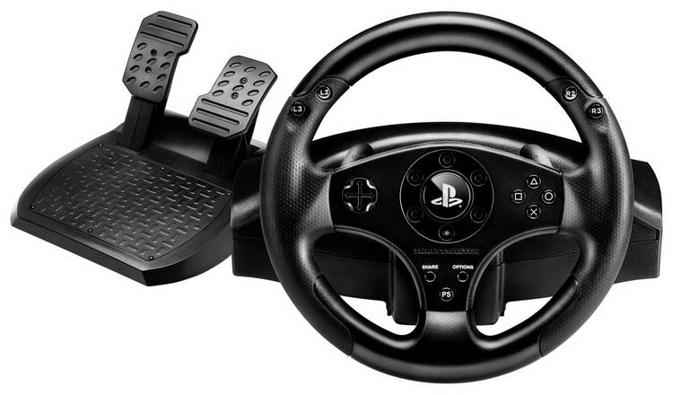 Buy Thrustmaster T80 Racing Wheel for PS3/PS4 | PS3 controllers and  steering wheels | Argos
