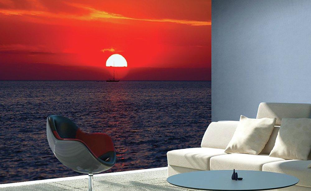 1wall  sunset  wall mural