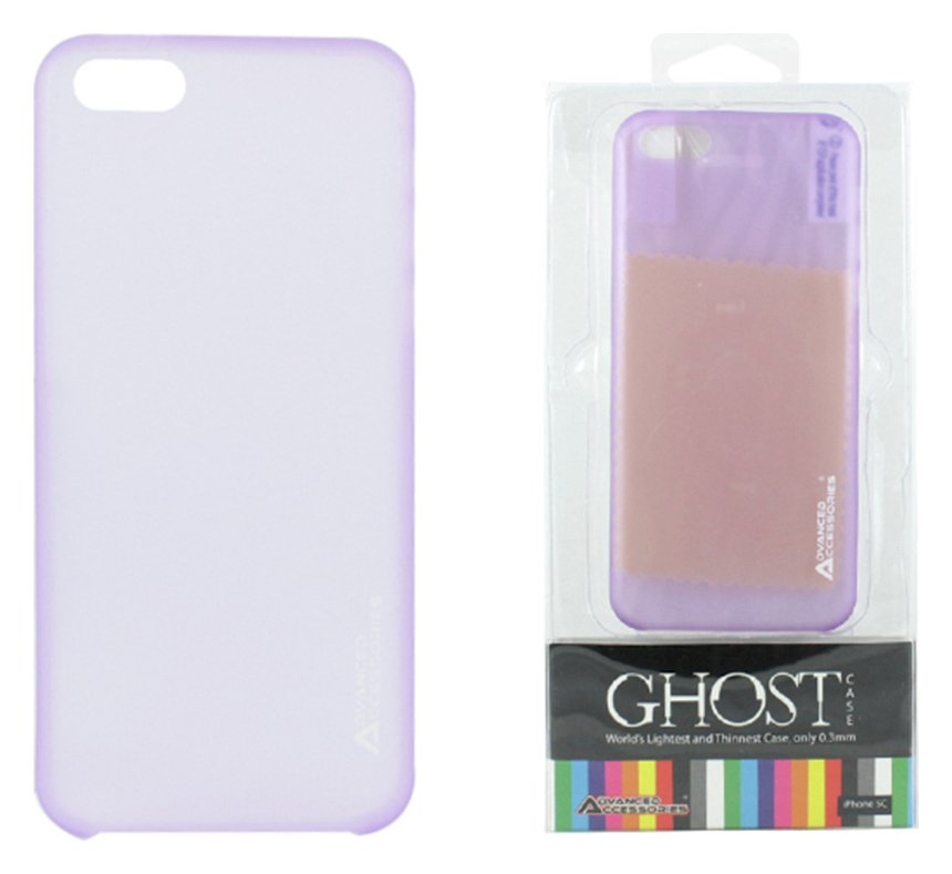 Image of Advanced Accessories iPhone 5C Ghost Case - Purple.