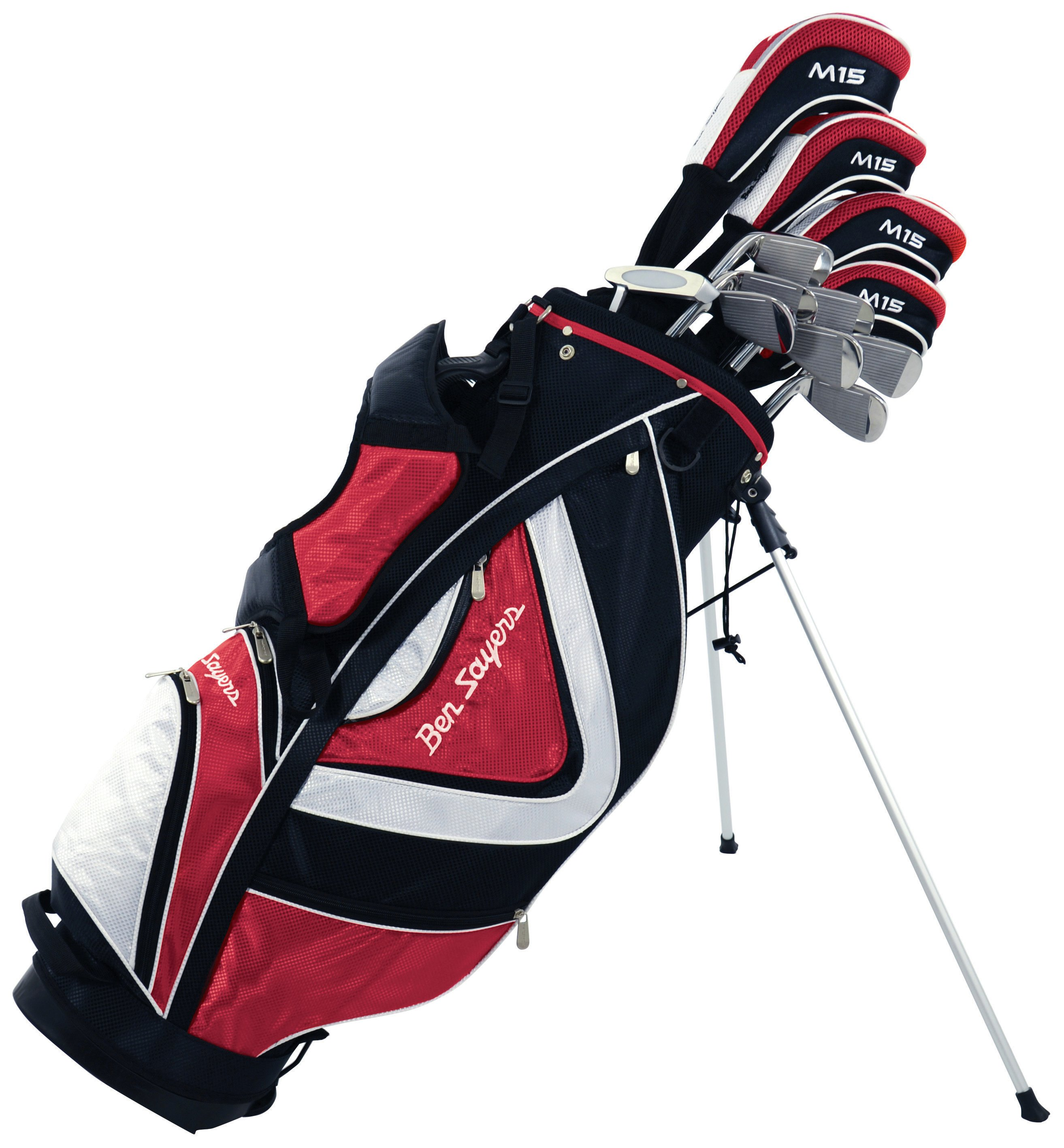 Ben Sayers - Golf M15 Mens Package Set - Red lowest price