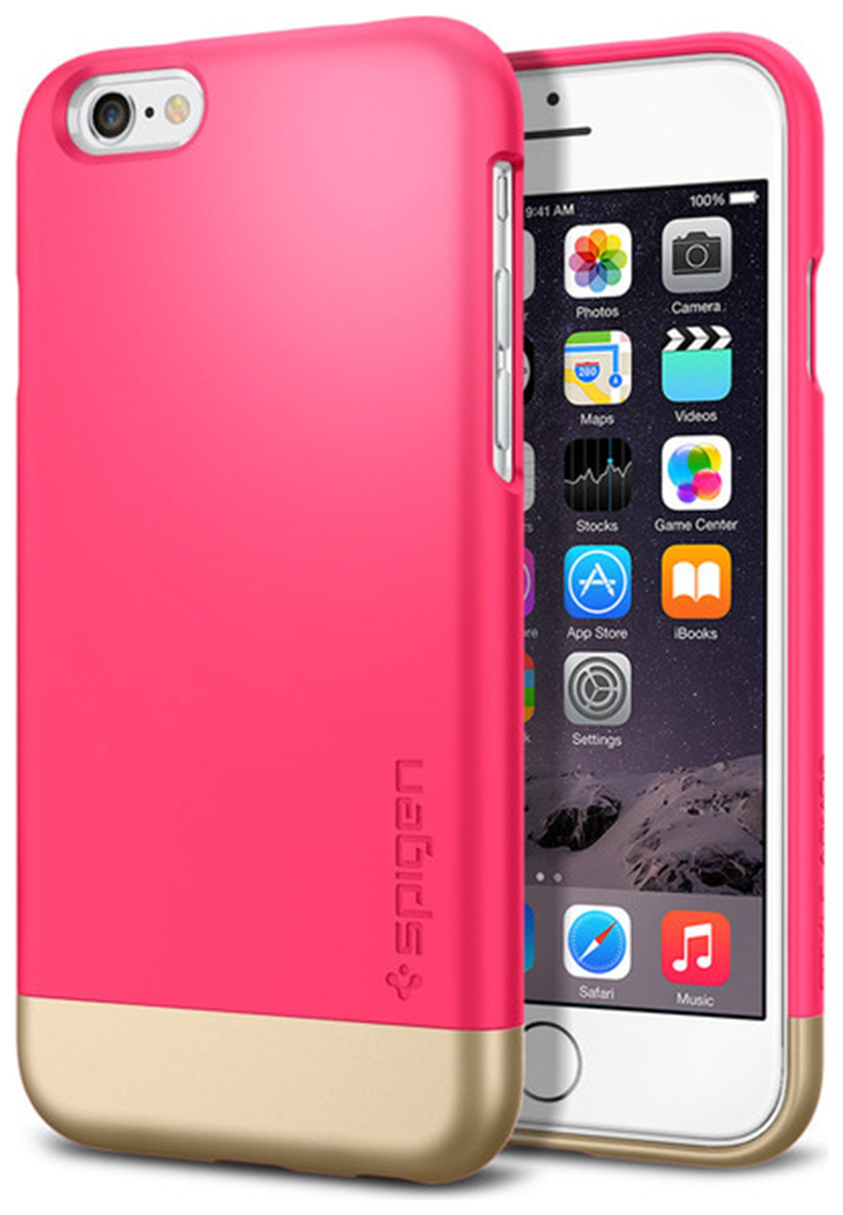 Apple Spigen Style Armor For iPhone 6 - Pink.