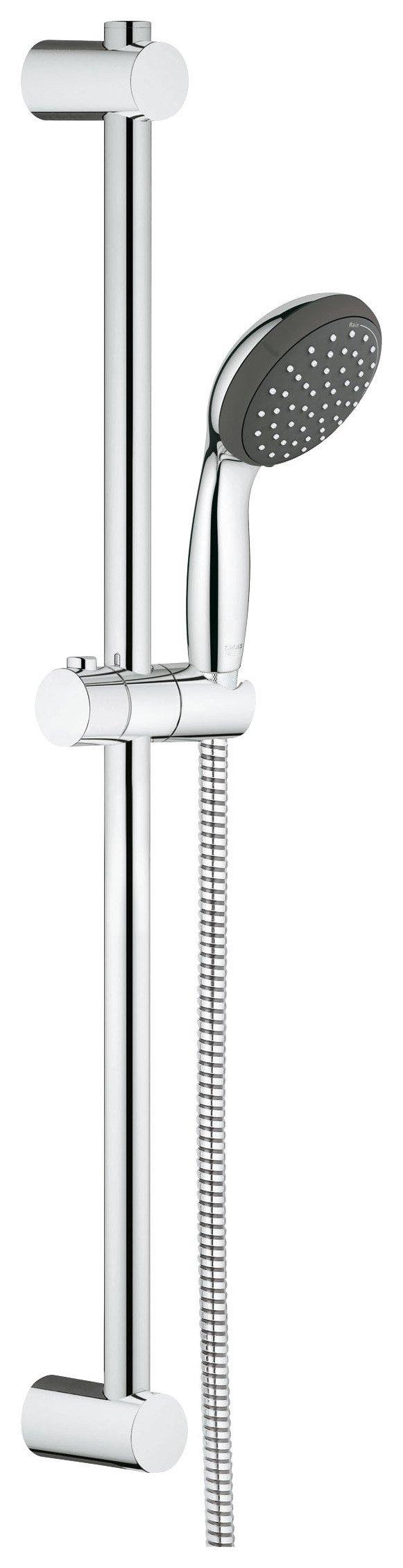 Grohe vitalio start 100 hand shower and rail for Grohe vitalio go 100