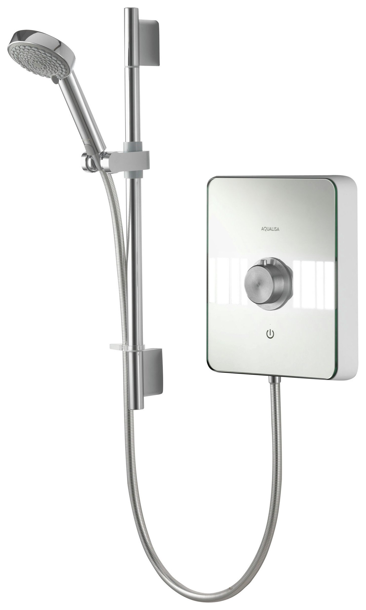 Image of Aqualisa Lumi 9.5kW Electric Shower - Chrome