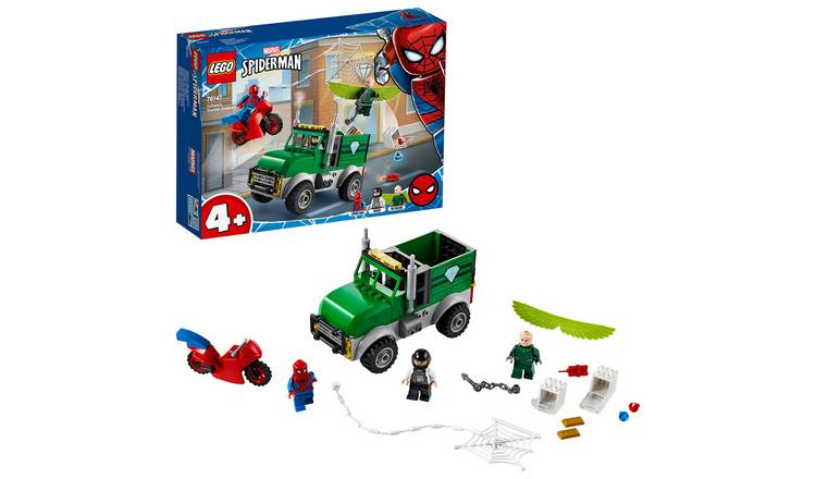 LEGO Marvel Spider-Man Vulture's Trucker Robbery Set 76147