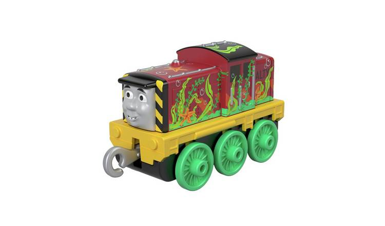 Thomas & Friends Seaweed Salty Small Push Along Toy Train