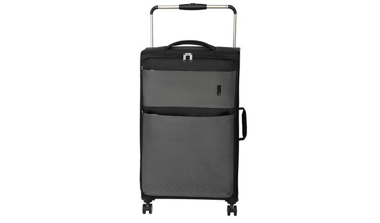 it Luggage World's Lightest Large 8 Wheel Soft Suitcase