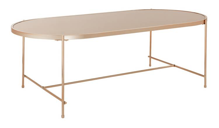 Argos Home Boutique Coffee Table - Rose Gold