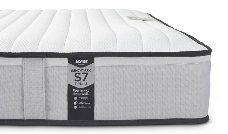 Jay-Be Benchmark S7 Tri-brid Eco Friendly Double Mattress