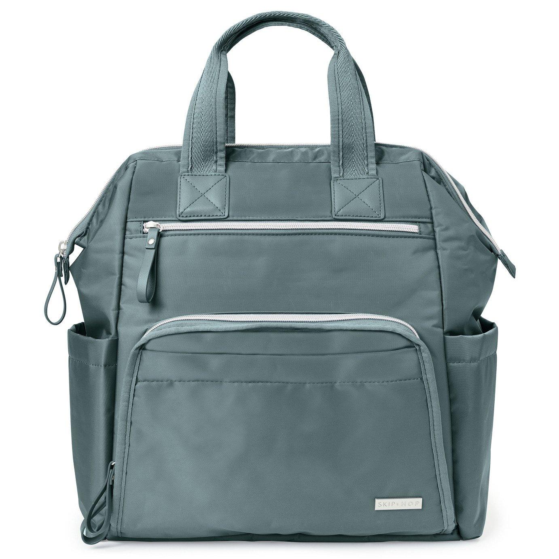 Skip Hop Mainframe Wide Open Backpack - Grey