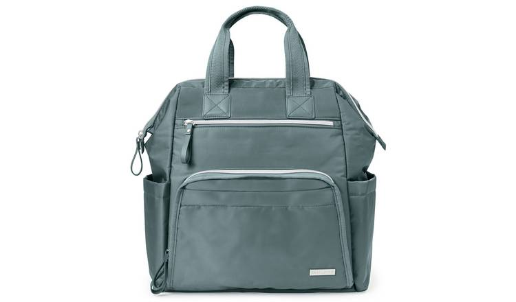 Skip Hop Mainframe Wide Open Backpack - Grey
