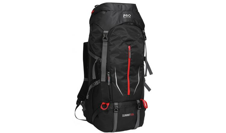 ProAction Summit 65L Backpack - Black