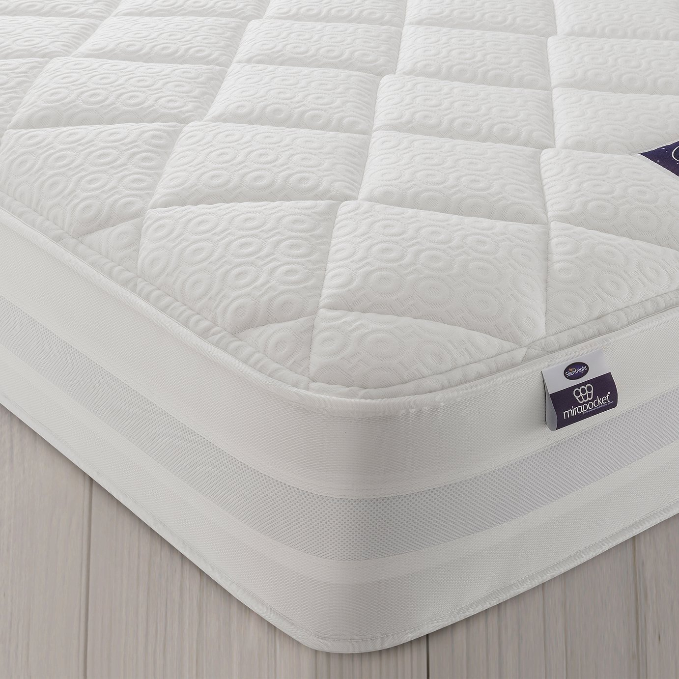 Silentnight Knightly 2000 Pocket Memory Double Mattress