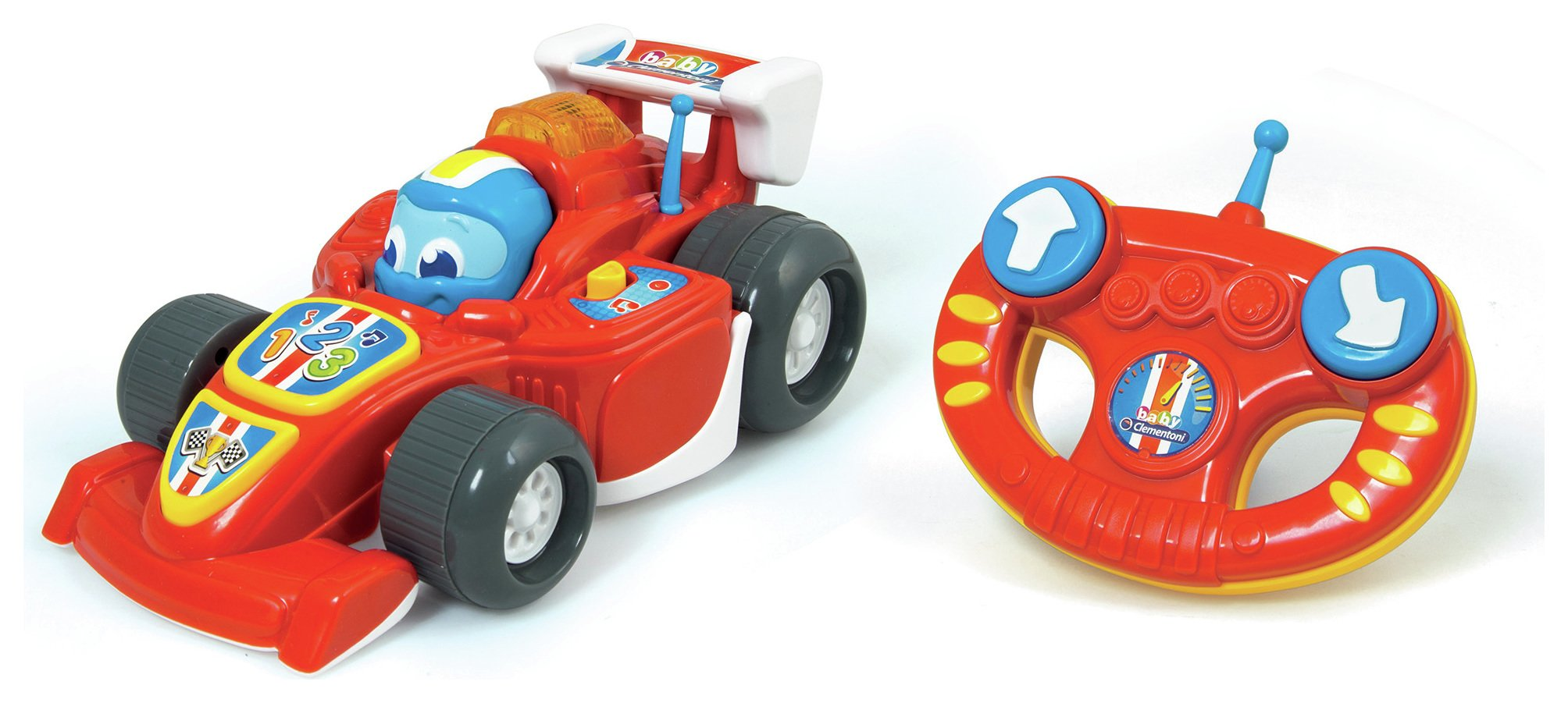 Image of Baby Clementoni Lewis Infrared Remote Control Car.