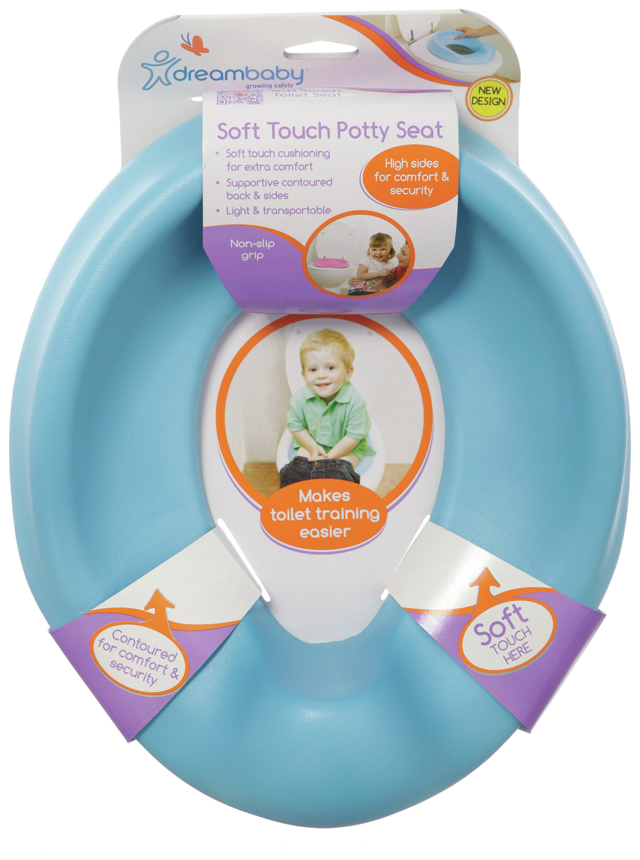 Image of Dreambaby Comfy Contoured Potty Seat - Blue.