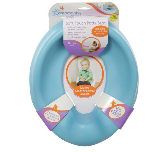 Toys R Us Potty Watch : Buy dreambaby comfy contoured potty seat blue at argos
