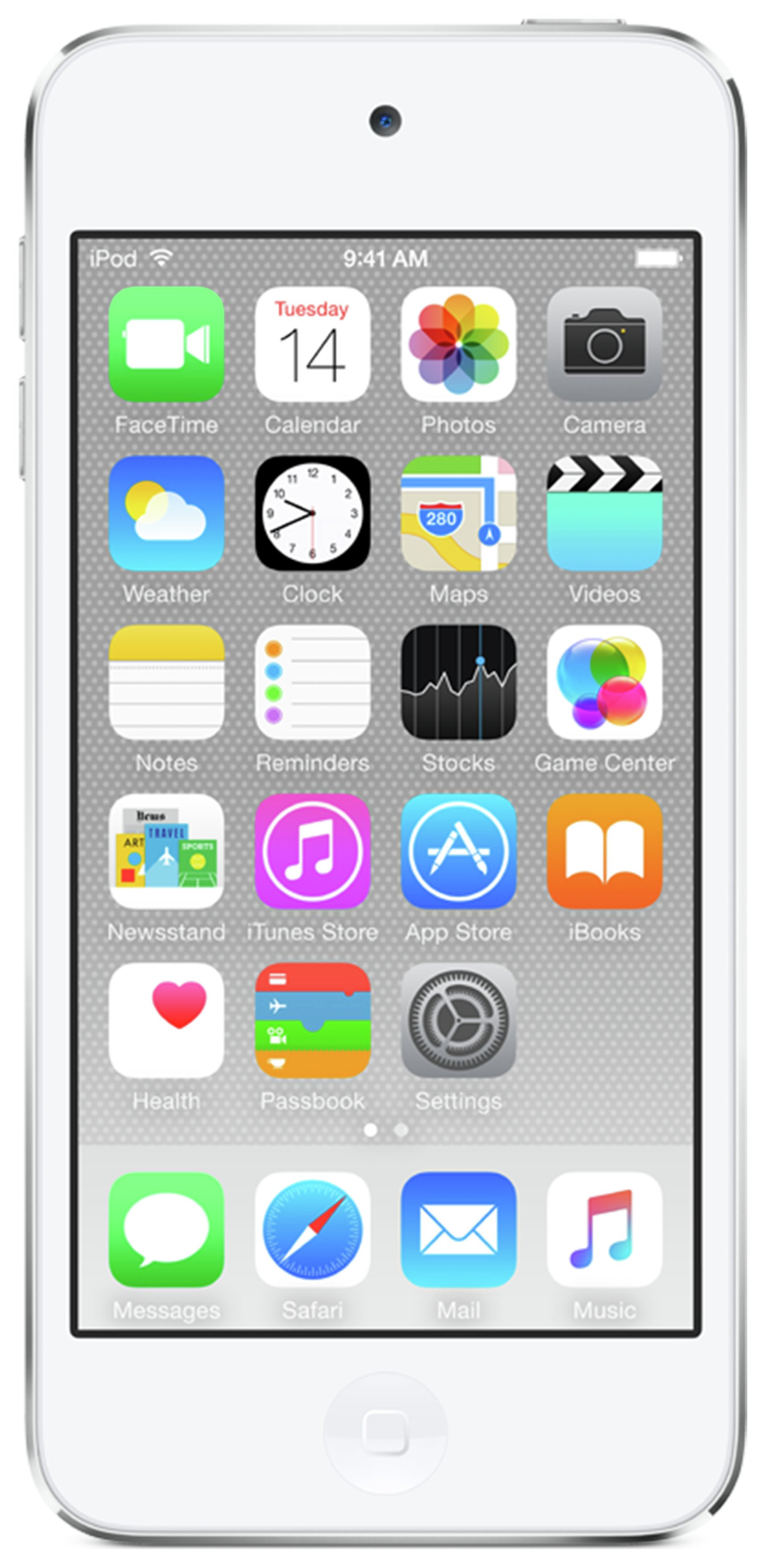 Apple Apple - iPod Touch 6th Generation 16GB - Silver
