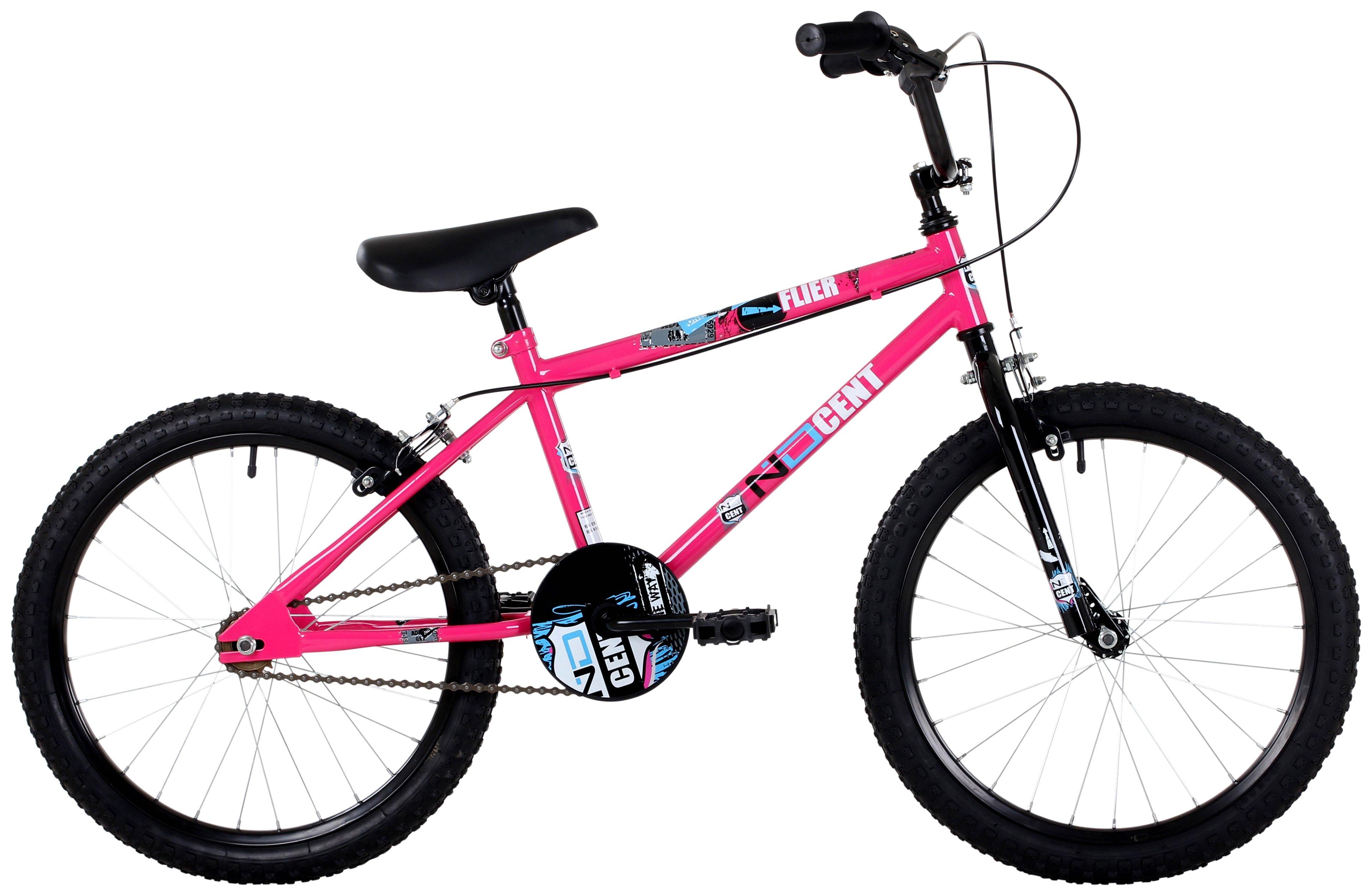 'Ndcent - Flier - 20 Inch Bmx - Bike - Pink/blue