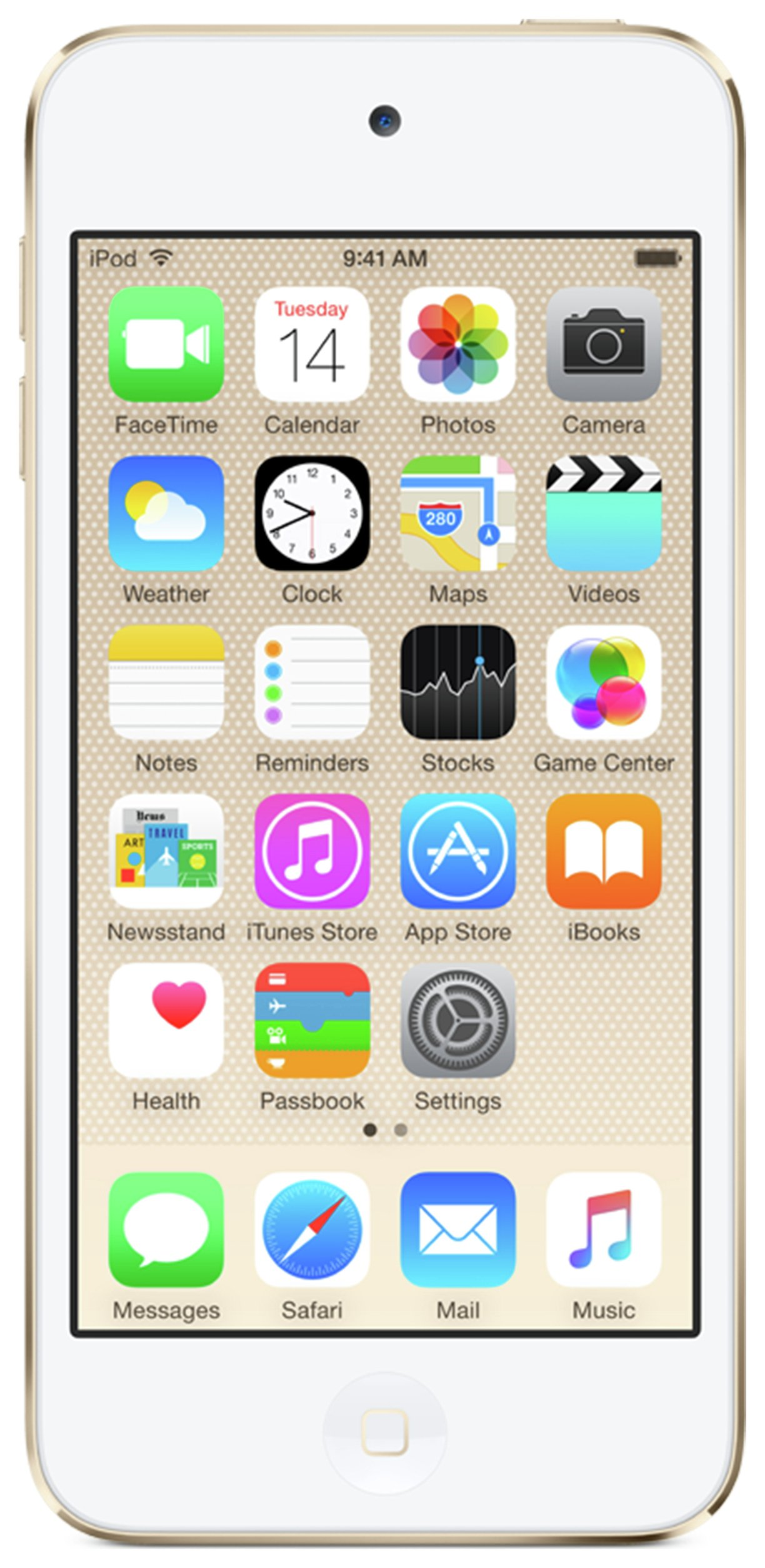 Apple Apple - iPod Touch 6th Generation 16GB - Gold