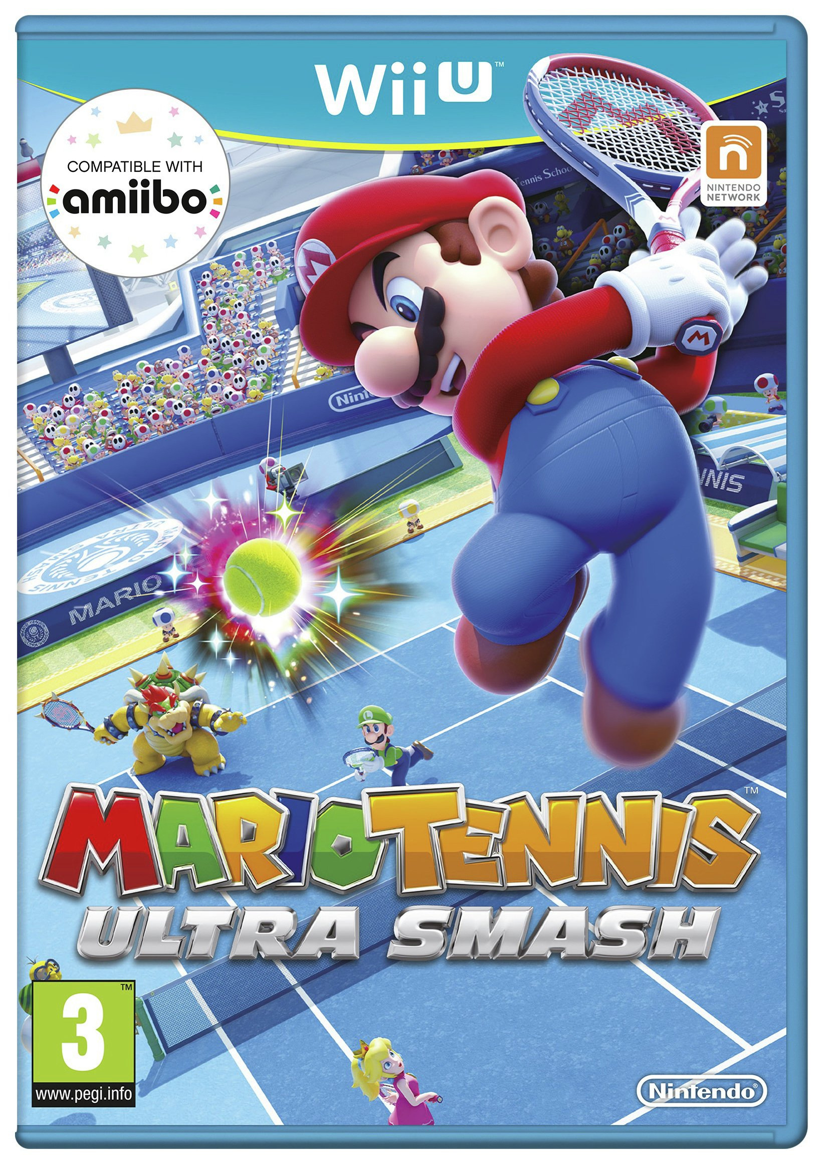 Mario Tennis Mario - Tennis Ultra Smash - Wii U Game