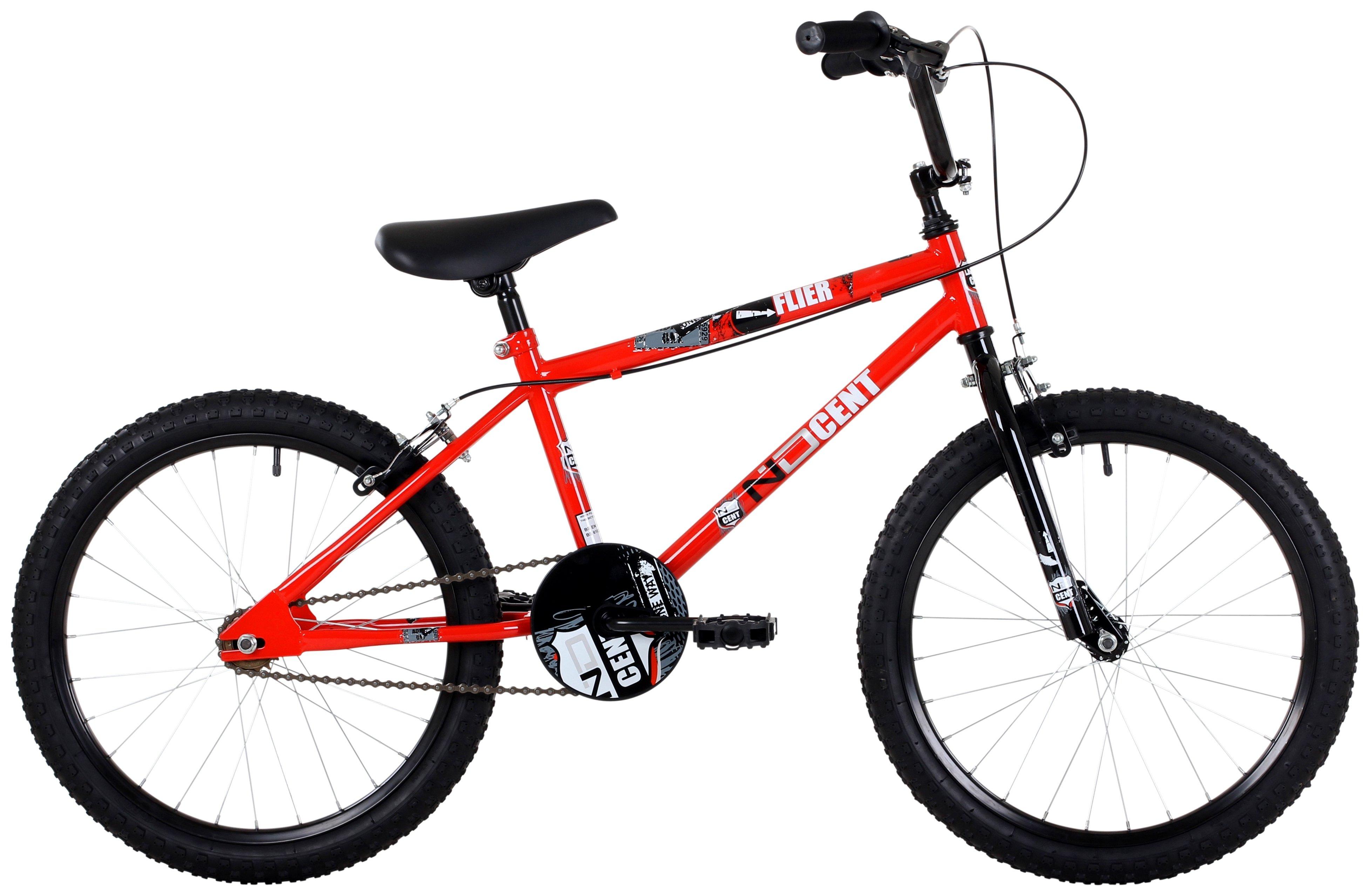 'Ndcent - Flier - 20 Inch Bmx - Bike - Red/black