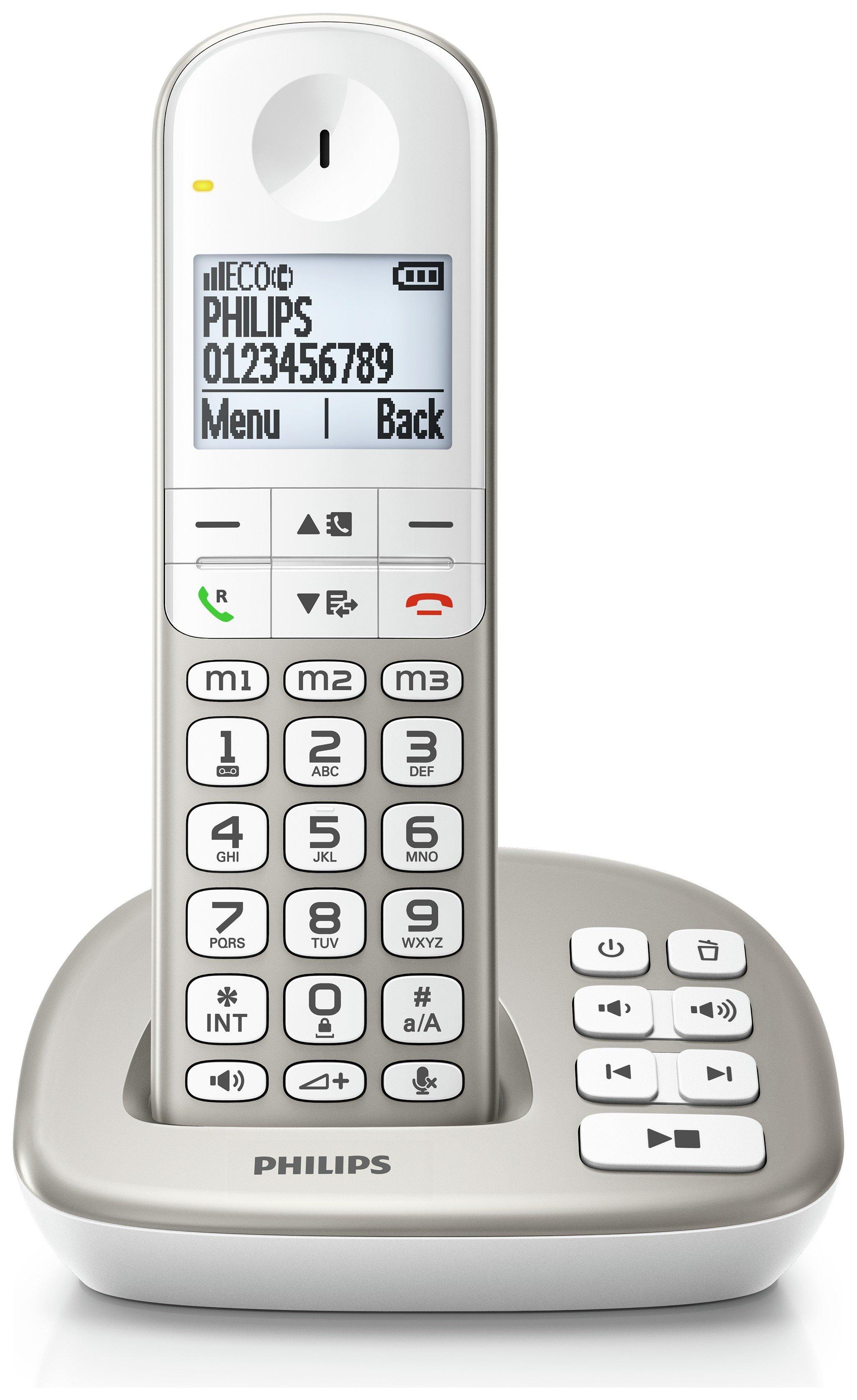 Philips - XL4951S 05 Single - Cordless Telephone
